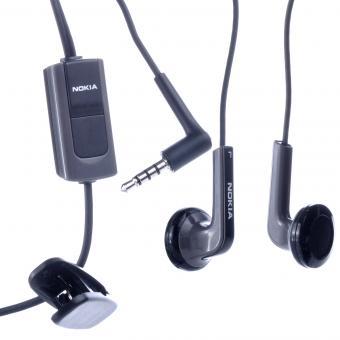 Nokia Stereo Headset HS-47, 2,5mm, black, Bulk