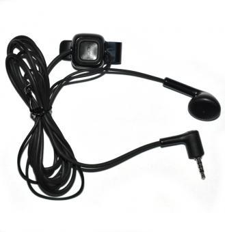 Nokia Mono Headset WH-100/HS-104, 2,5mm, black, Bulk